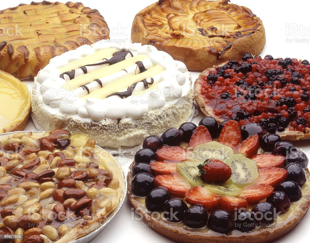 fruitcakes royalty-free stock photo