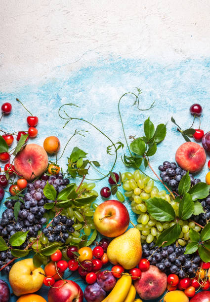 fruits and berries - melonenbirne stock-fotos und bilder