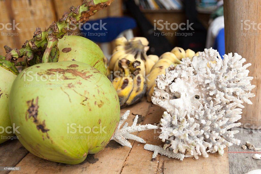 Obst und coral – Foto