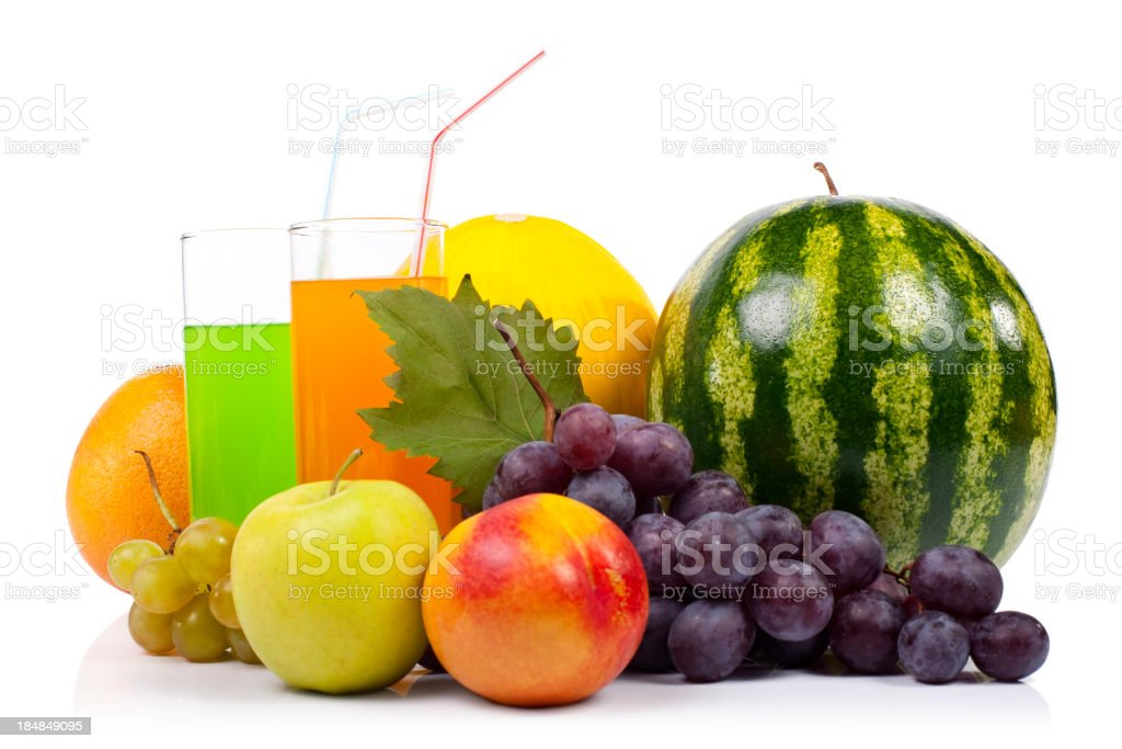 Fruits and fresh royalty-free stock photo
