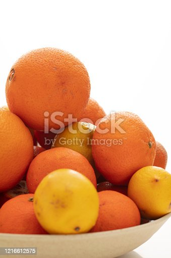 istock Fruits and herbal medicine for healthy life 1216612575
