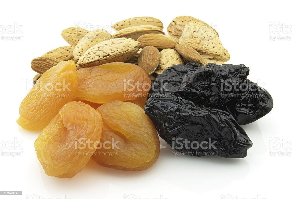 Des Fruits et des noix photo libre de droits