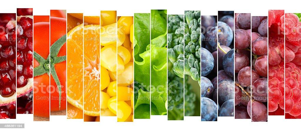 Obst und Gemüse-Konzept – Foto