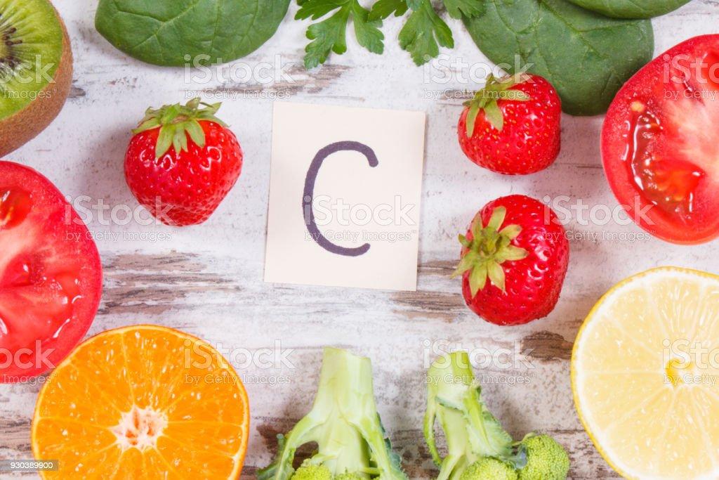 verduras que no contienen vitamina c