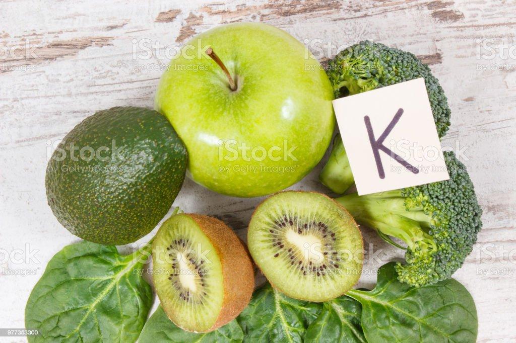 ビタミン k 食べ物