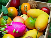Apple - Fruit, Apricot, Cherry, Crate, Food and Drink