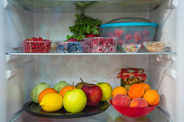 Obst und Gemüse in den Kühlschrank. – Foto