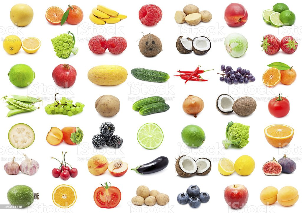 Fruits and Vegetables stock photo
