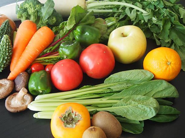 果物と野菜 - スーパーマーケット 日本 ストックフォトと画像