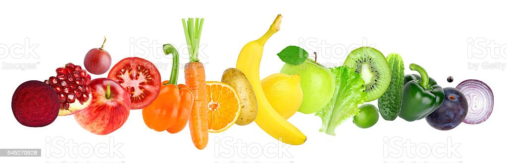 Obst und Gemüse  – Foto
