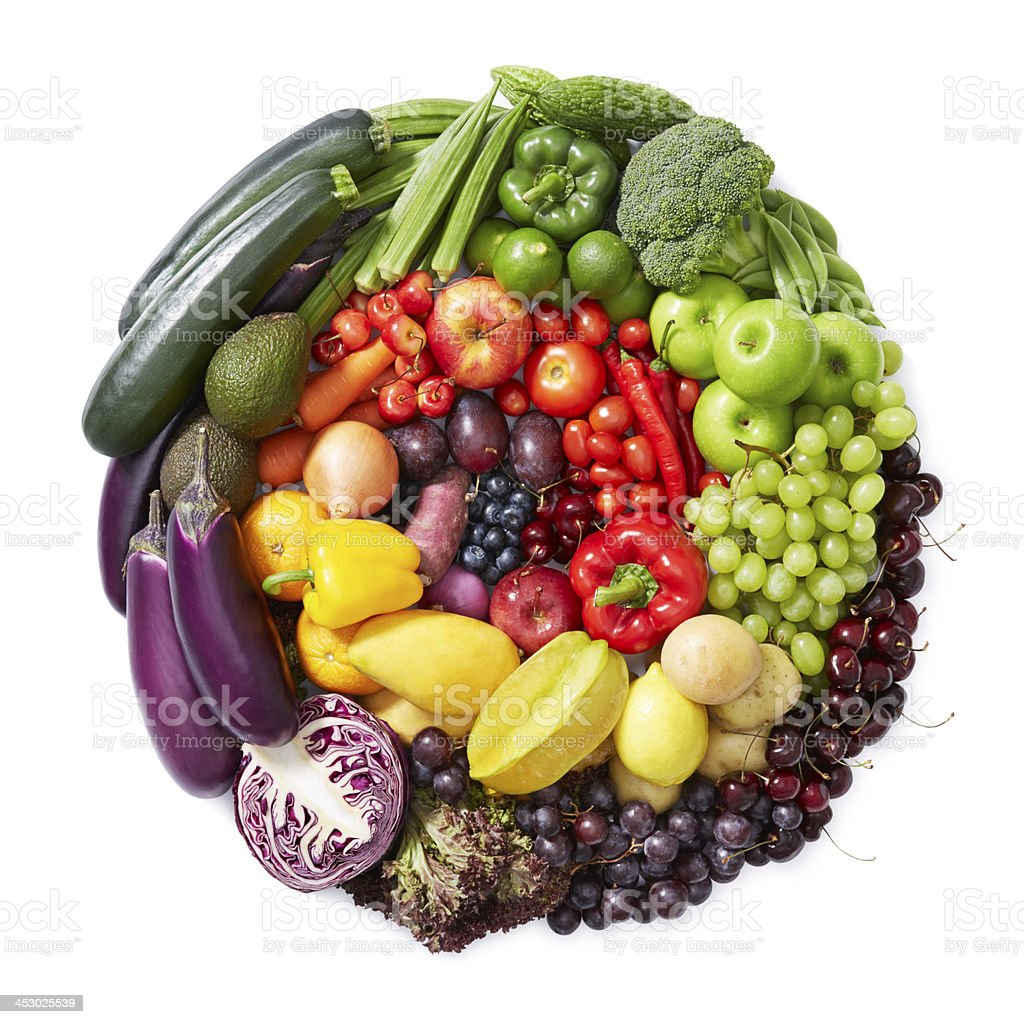 fruits and vegetables spiral stock photo 453025539 istock