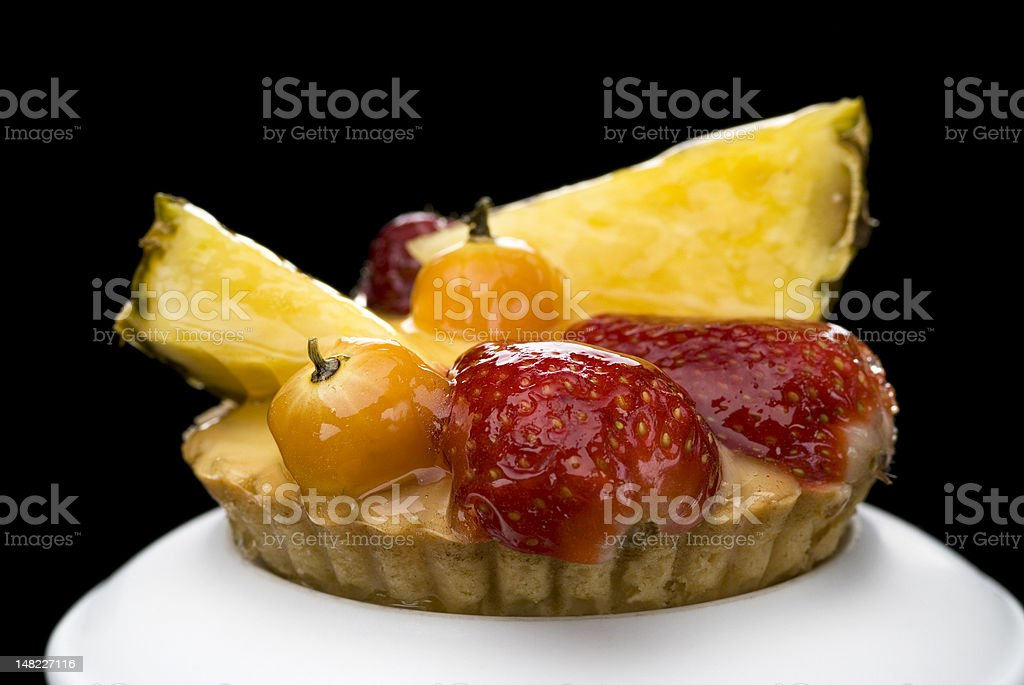fruits cake royalty-free stock photo