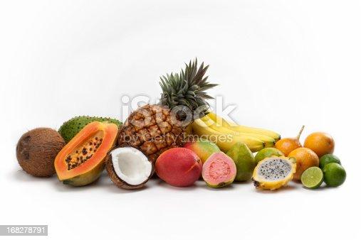 TROPICAL Fruits composition.