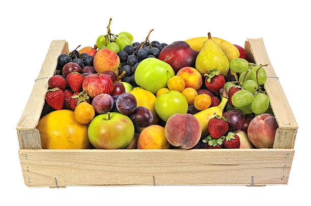 fruits two. stock photo