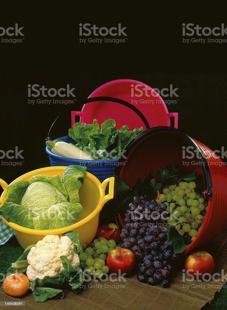 FruitsNvegetables royalty-free stock photo