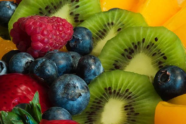 fruit--up close! stock photo
