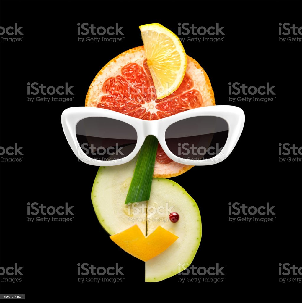 Fruity art. stock photo