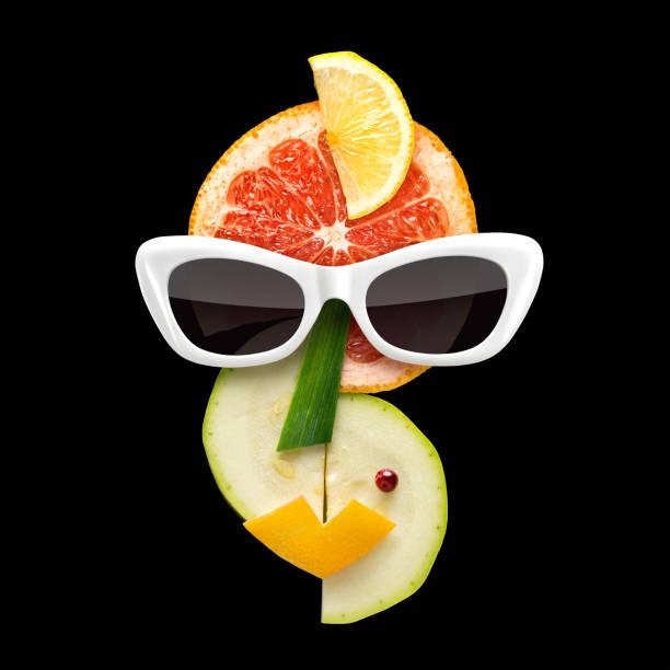 Fruity art. stock photo