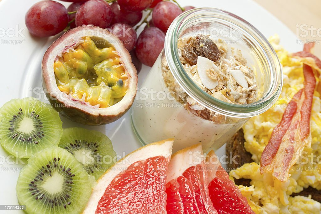 Fruity brunch royalty-free stock photo