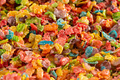 Fruity Cereal Marshmallow Treat Bars