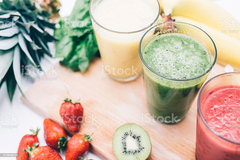 Fruity deliciousness stock photo