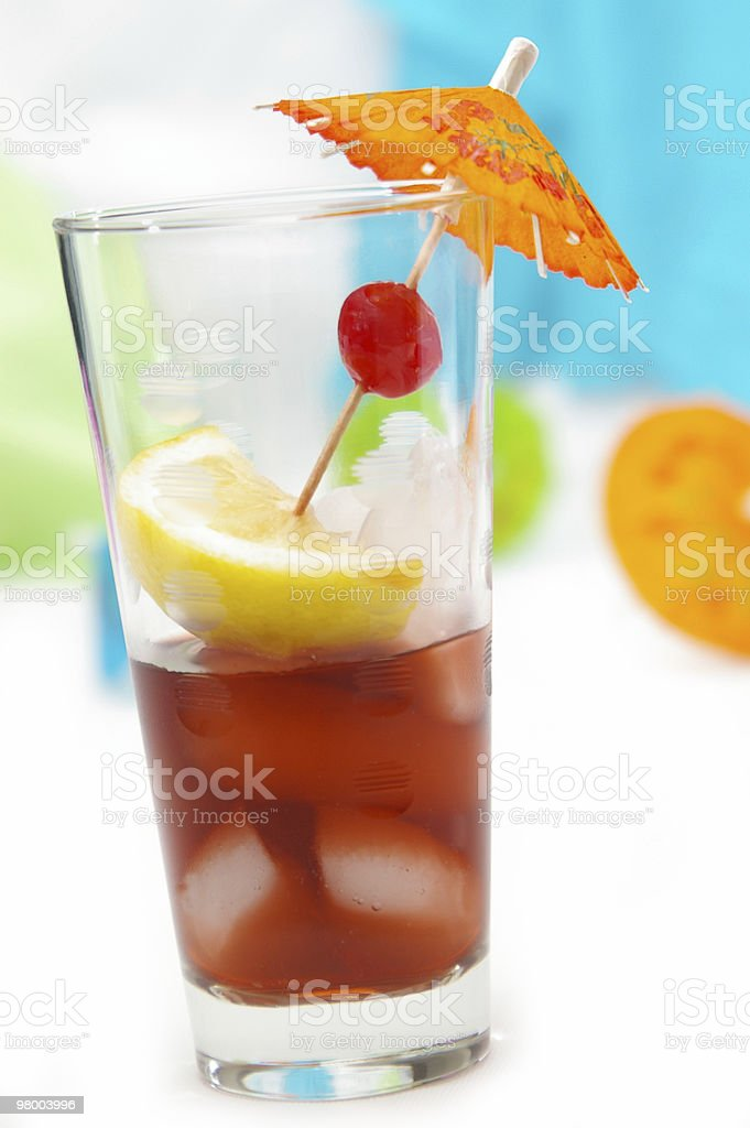 Fruity Drink royalty-free stock photo