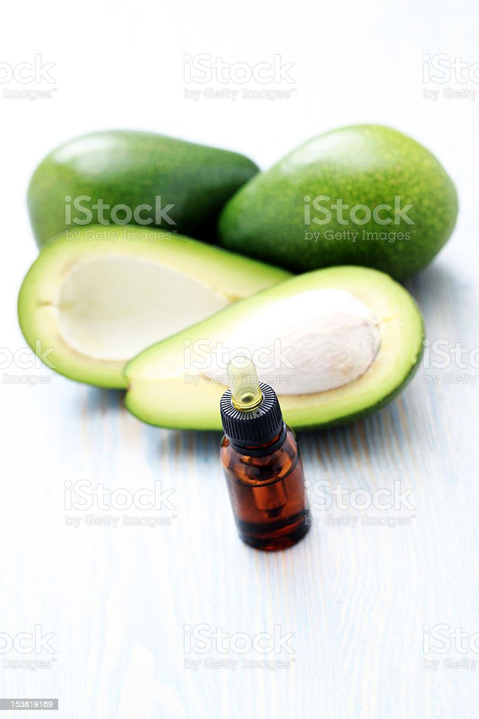 fruity essential oil royalty-free stock photo