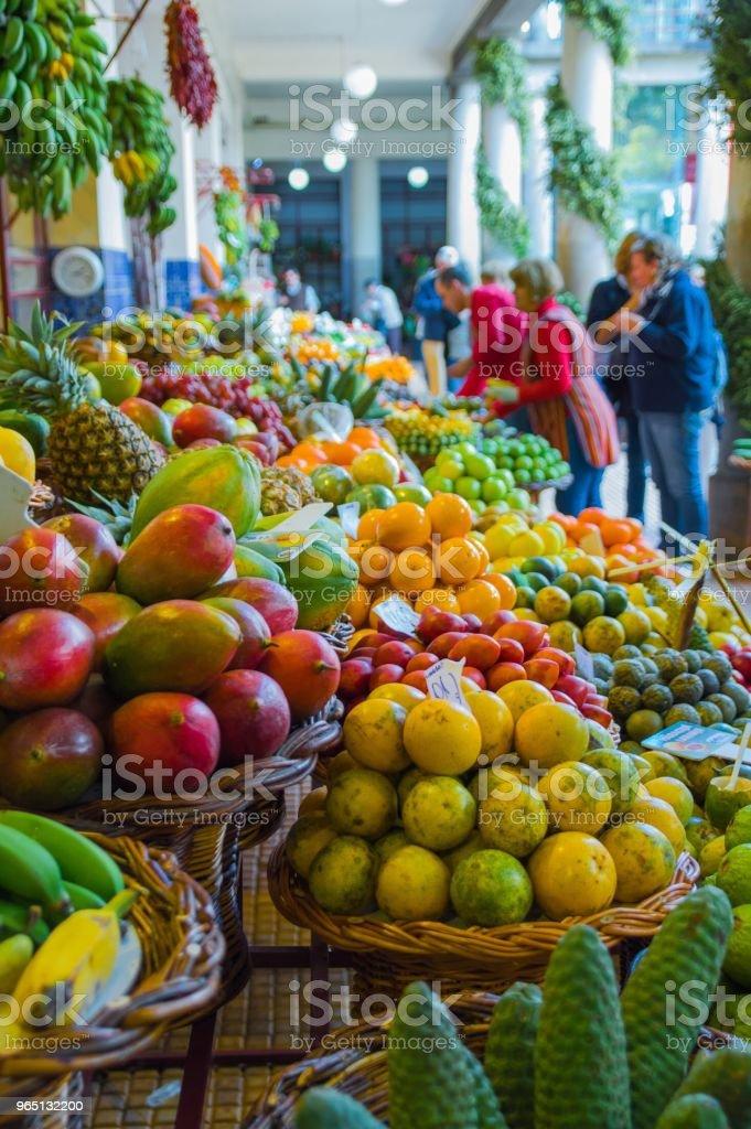 fruity marketplace royalty-free stock photo