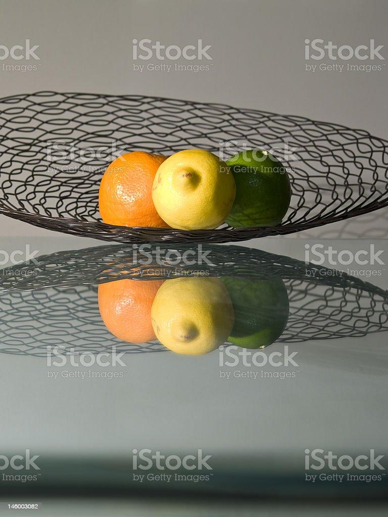 Fruity Reflection royalty-free stock photo
