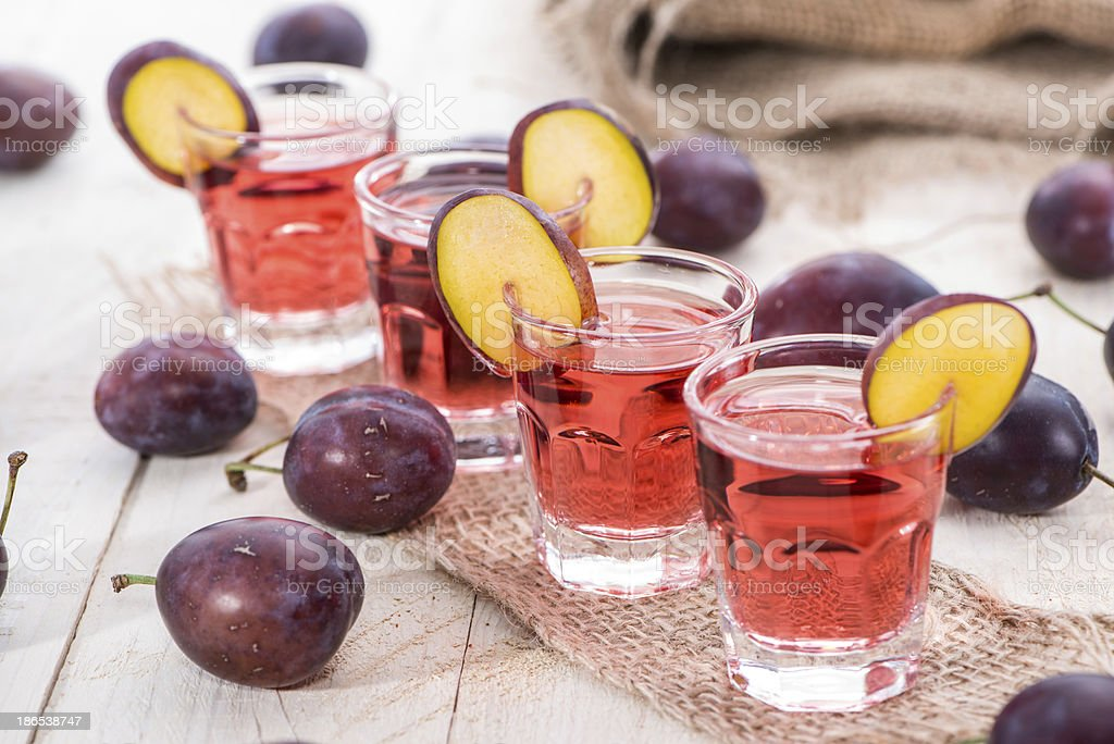 Fruity Shots royalty-free stock photo