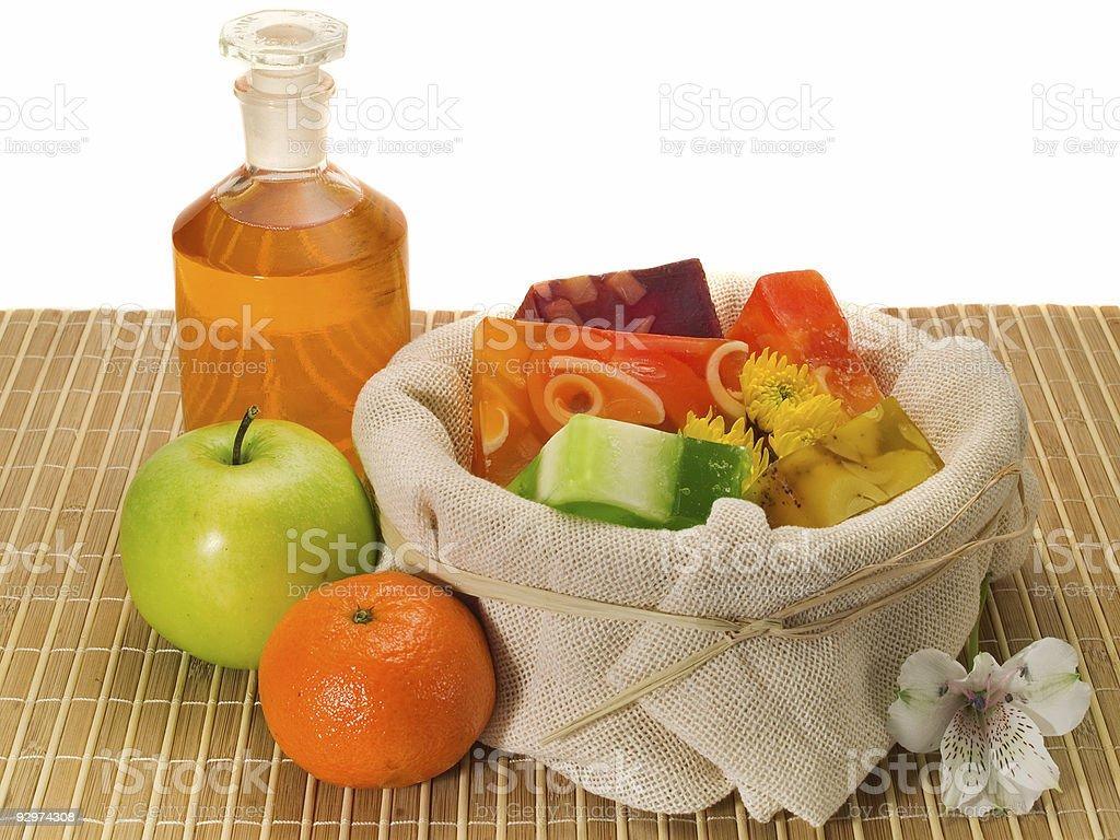 Fruity Soaps royalty-free stock photo
