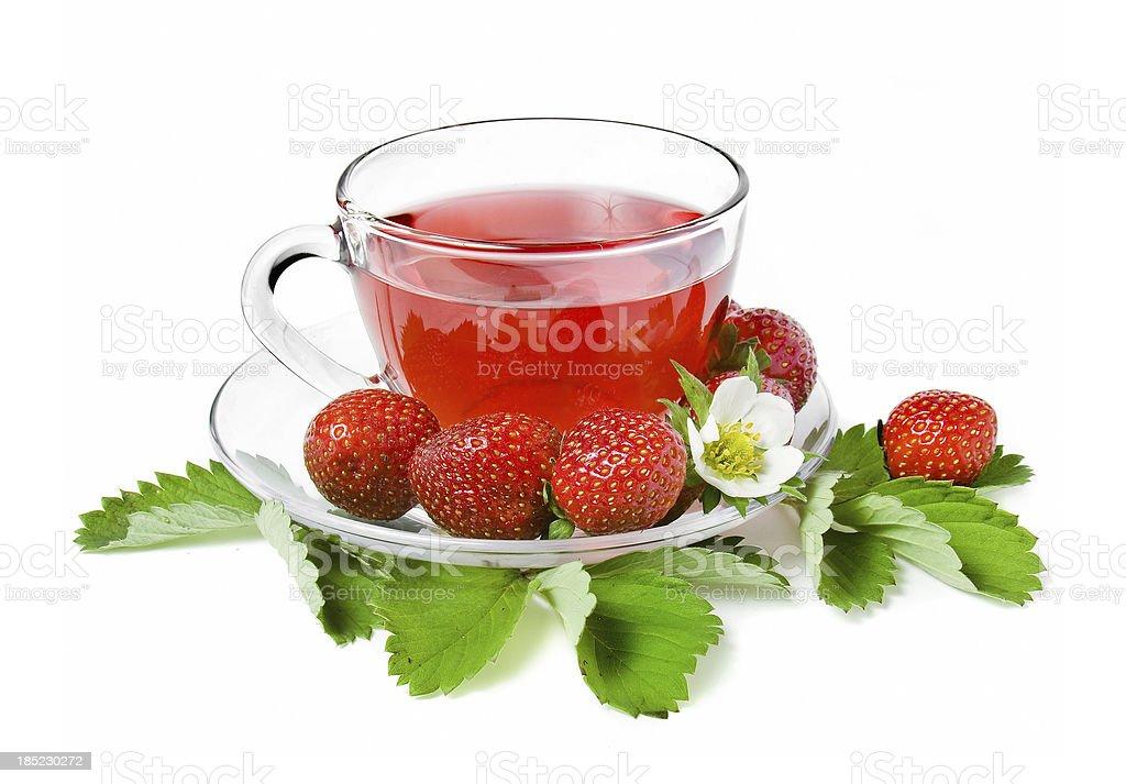 Fruity Tea stock photo
