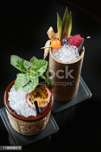 Fruity Tiki Cocktails