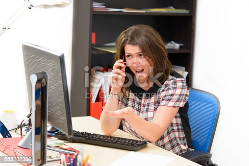 187928332istockphoto Frustrated Business Woman 858232356