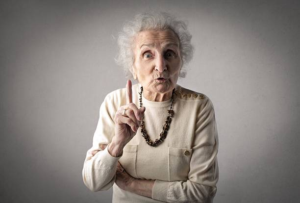 frustrated old woman - criticise stock pictures, royalty-free photos & images
