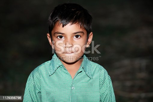 istock Frustrated young child sulking 1129356798