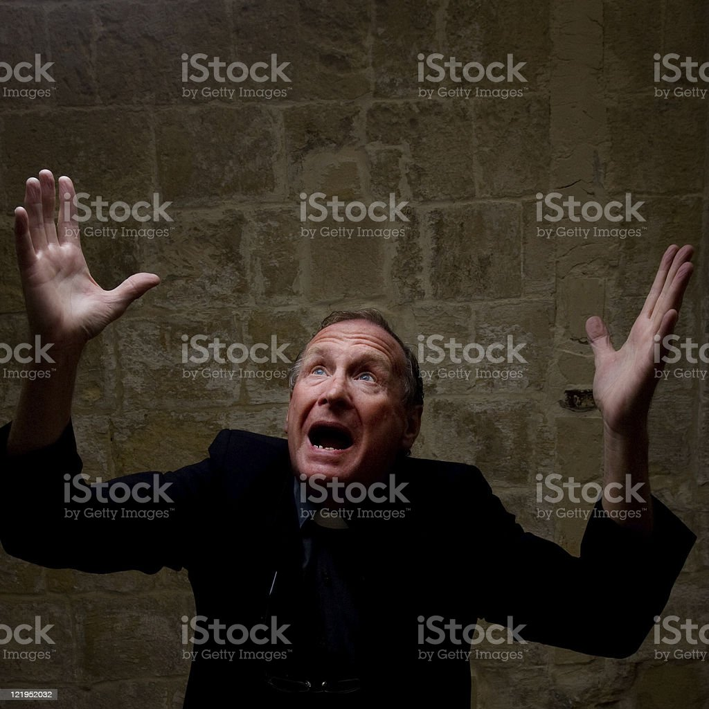 Frustration royalty-free stock photo