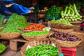 istock Fruts and vegetables at market 1145433361
