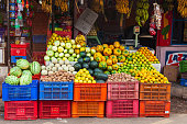 istock Fruts and vegetables market, India 1171590267