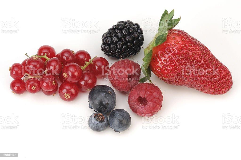 Frutti di bosco royalty-free stock photo