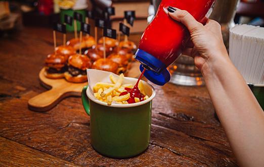 Fry And Ketchup