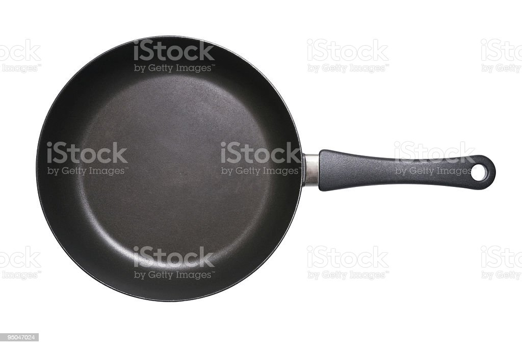 Fry Pan Isolated stock photo