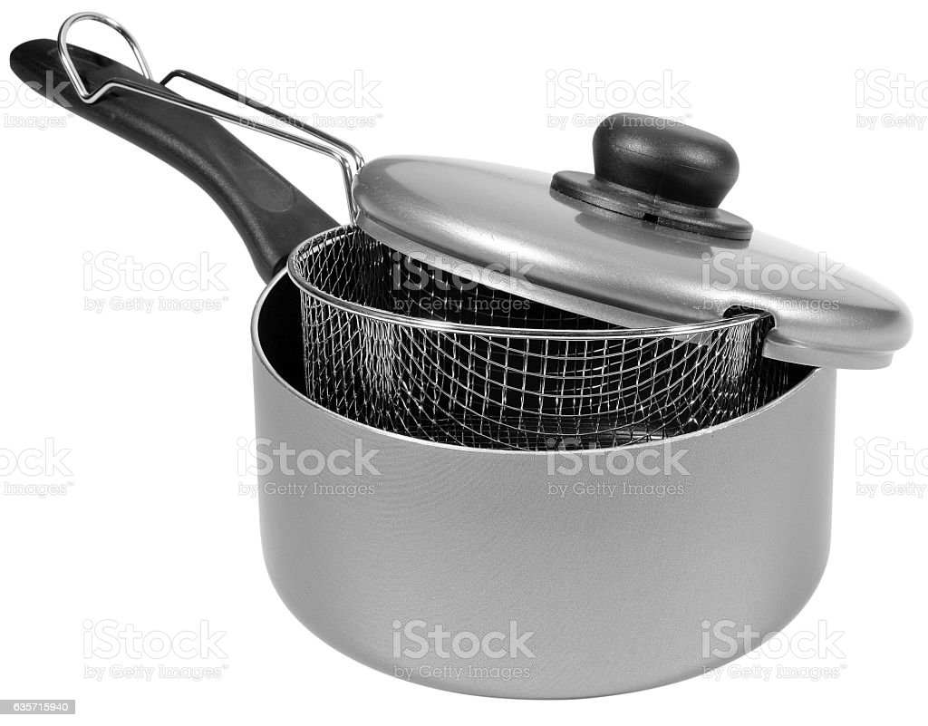fryer isolated royalty-free stock photo