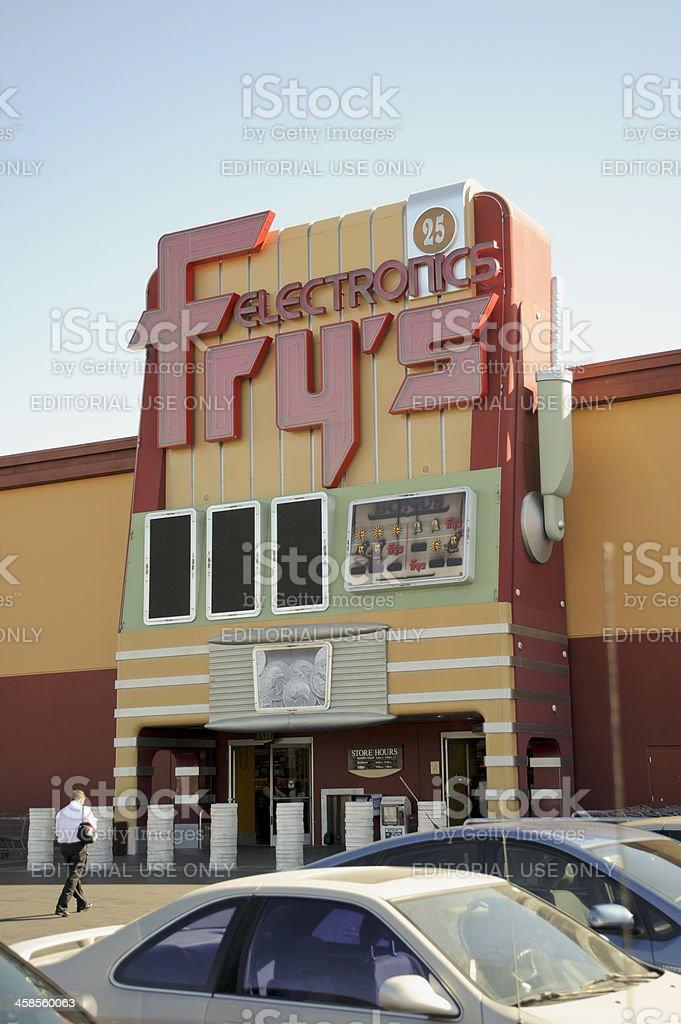 Frys Electronics Las Vegas Stock Photo - Download Image Now