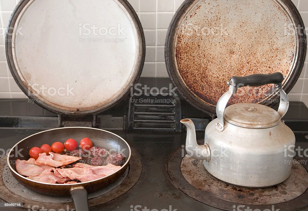 Fry-up royalty-free stock photo