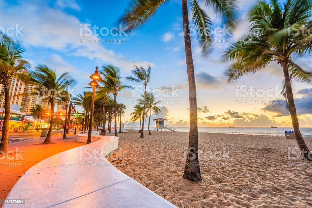 Ft. Lauderdale Beach, Florida, USA stock photo