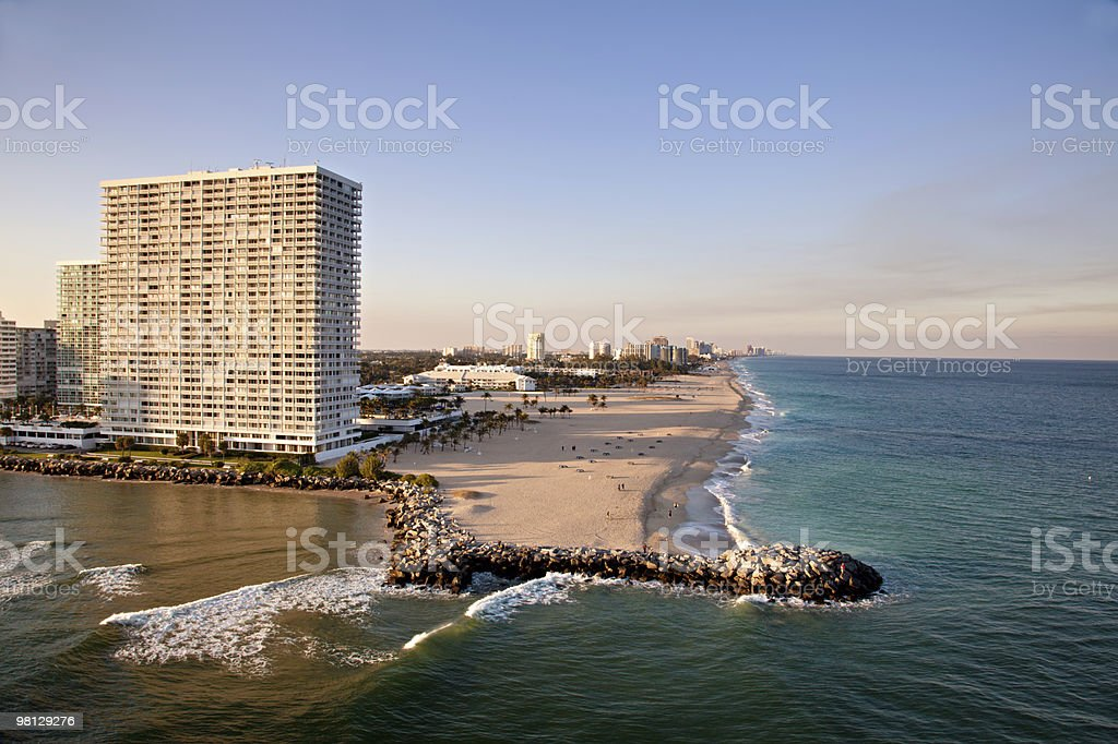 Ft Lauderdale Beach foto stock royalty-free
