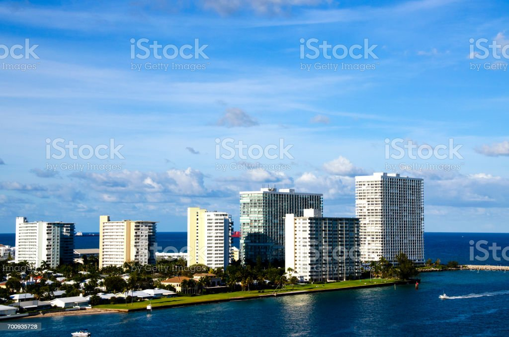 Ft. Lauderdale Florida stock photo