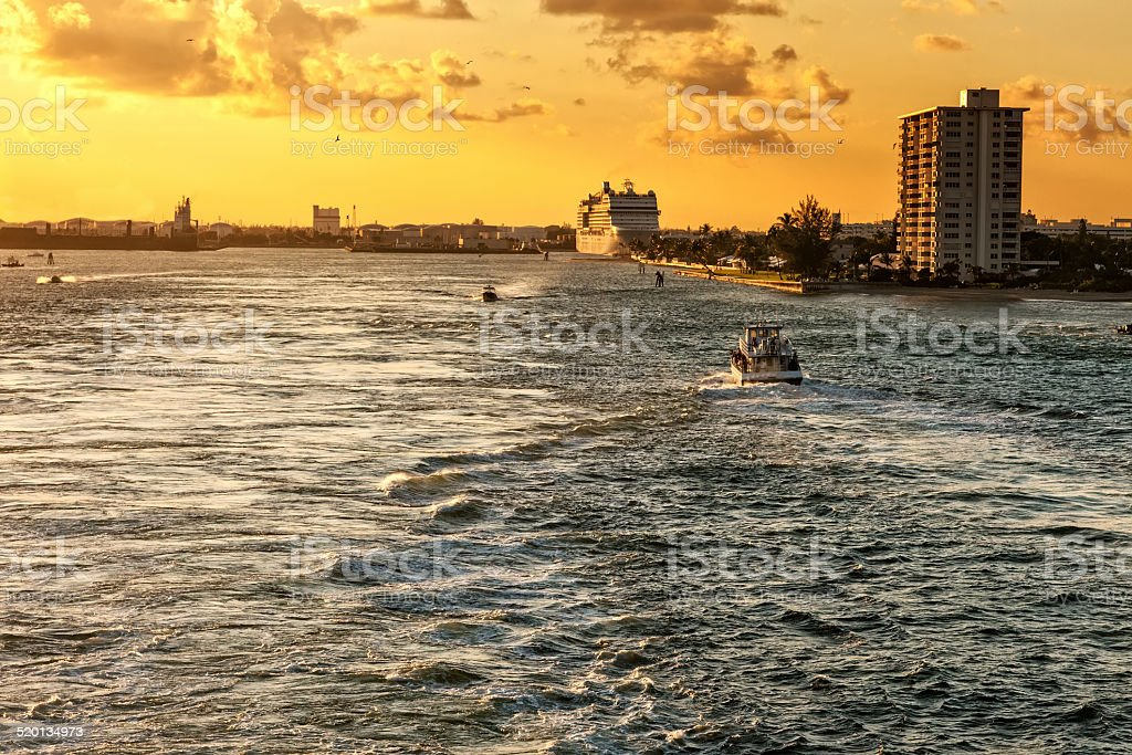 Ft. Lauderdale stock photo