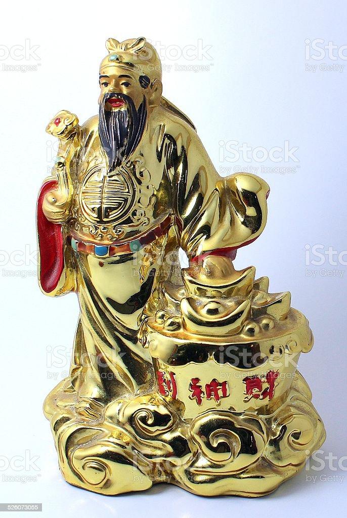 Fu Lu Shou stock photo